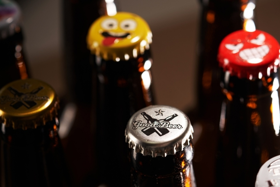 High quality crown caps to make your craft beer standout